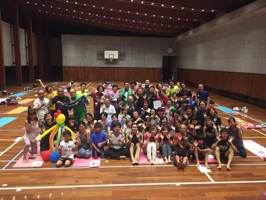 チャリティ・ヨガ開催!@神戸