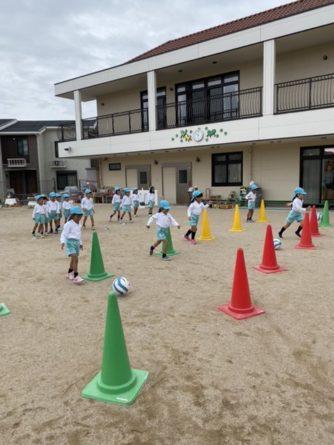 【訪問サッカースクール】みつばこども園