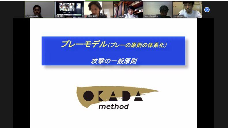 岡田メソッド指導者研修⑤プレーモデル:一般原則(攻撃)